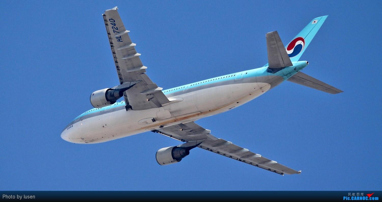 Re:[原创]大年初四PEK的各种肚皮照 AIRBUS A300-600R HL-7240 PEK