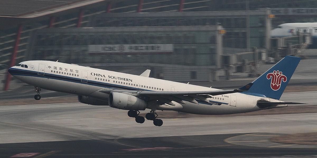Re:[原创]过完小年儿,帝都的天气又不给力了!献上汉莎340-300等 AIRBUS A330-200 B-6056 中国北京首都机场