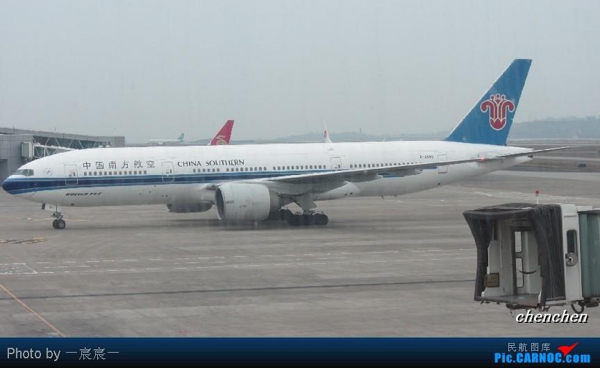 [原创]CKG-CAN的CKG候机 BOEING 777-200 B-2053 中国重庆江北机场