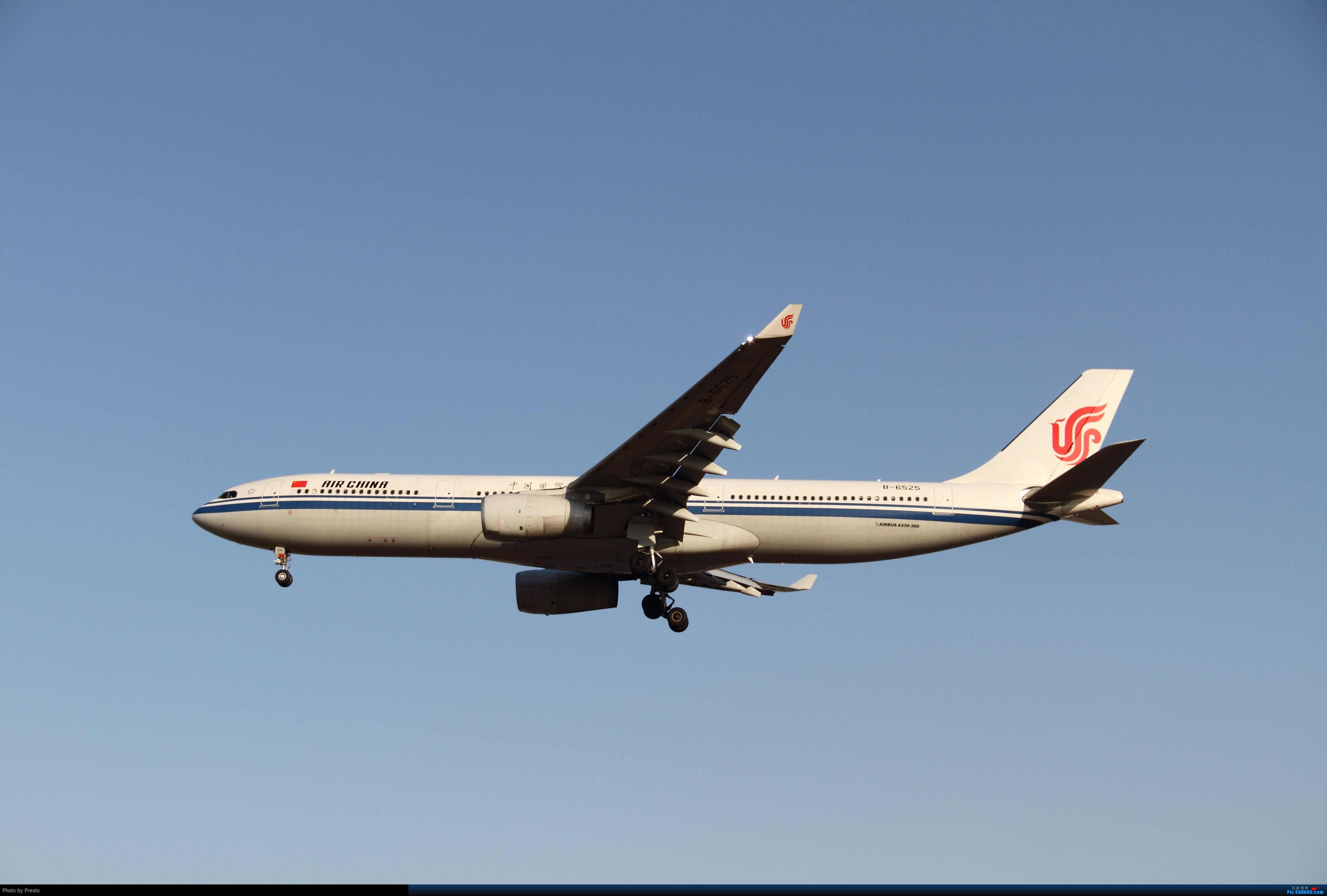 [原创]2.2PEK 首次发图 虚心求教 AIRBUS A330-300 B-6525 中国北京首都机场