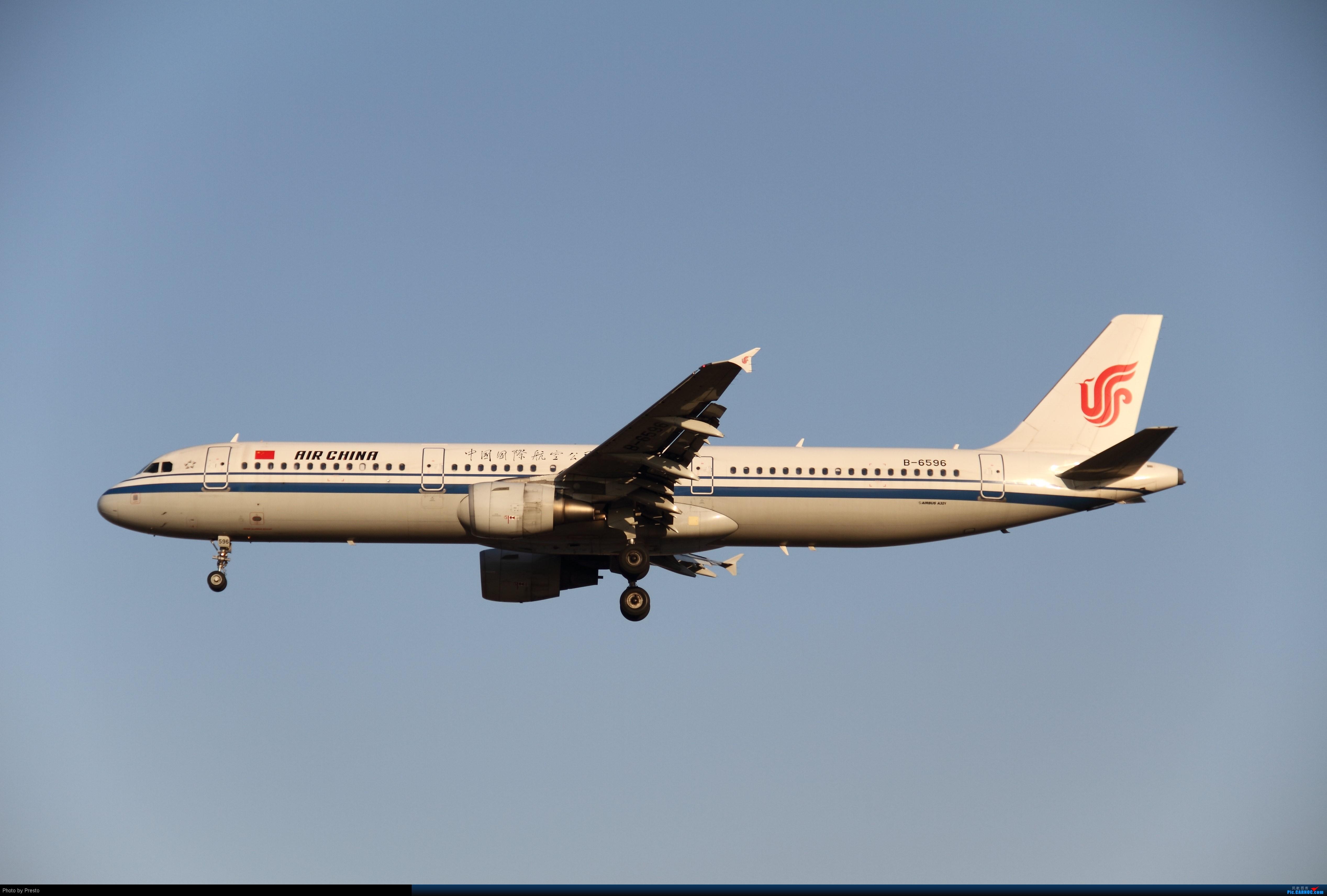 Re:2.2PEK 首次发图 虚心求教 AIRBUS A321-200 B-6596 中国北京首都机场