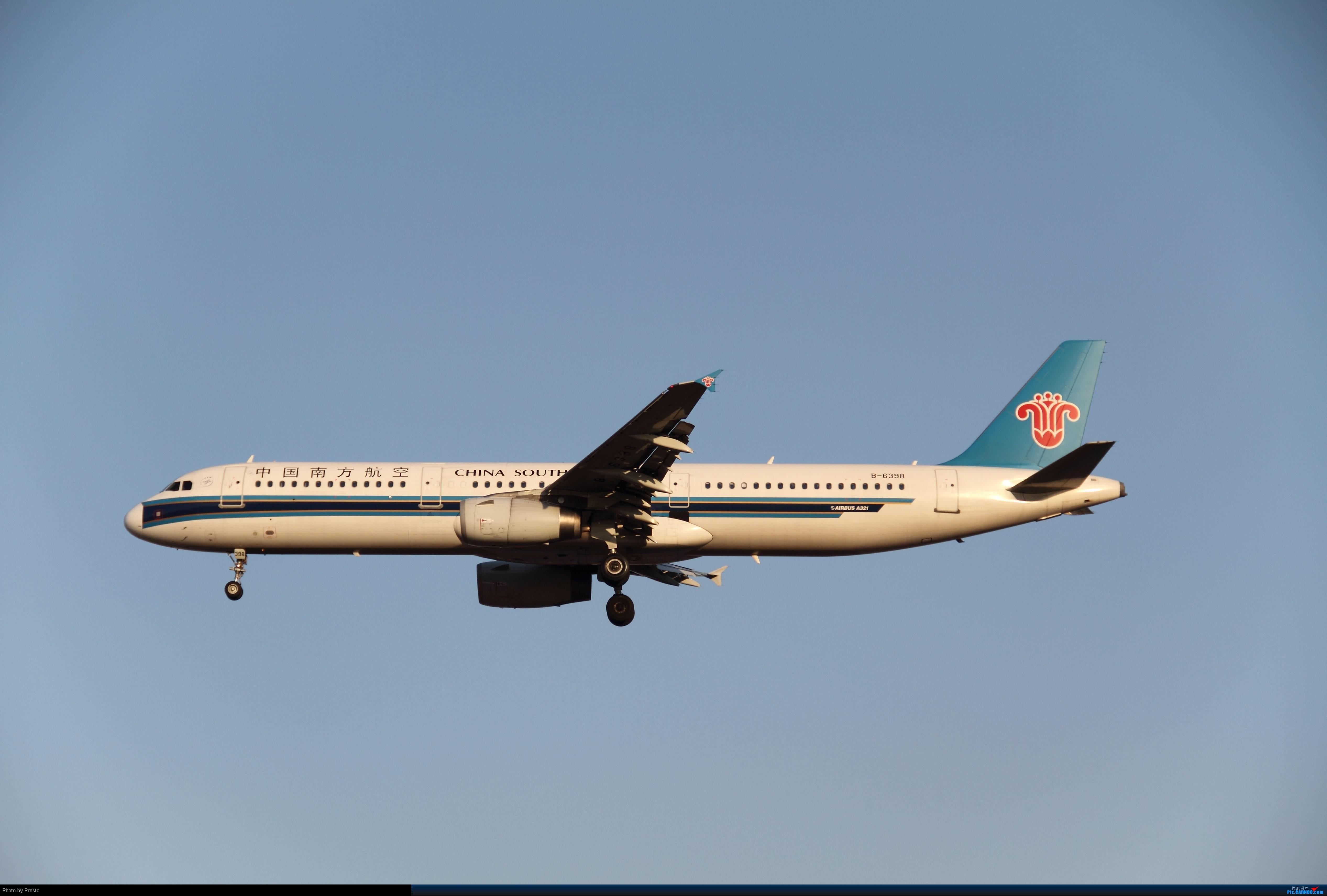 Re:[原创]2.2PEK 首次发图 虚心求教 AIRBUS A321-200 B-6398 中国北京首都机场