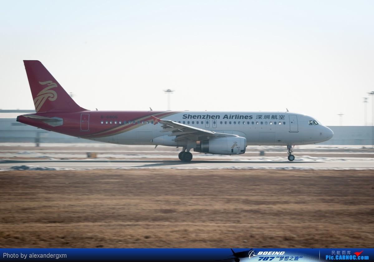 Re:[原创]【SHE】上午桃仙机场随拍~757斯基等~ AIRBUS A320 B-6806 中国沈阳桃仙机场