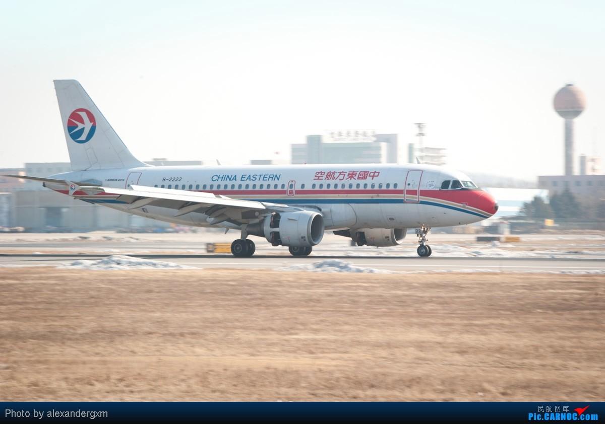 Re:[原创]【SHE】上午桃仙机场随拍~757斯基等~ AIRBUS A319-100 B-2222 中国沈阳桃仙机场