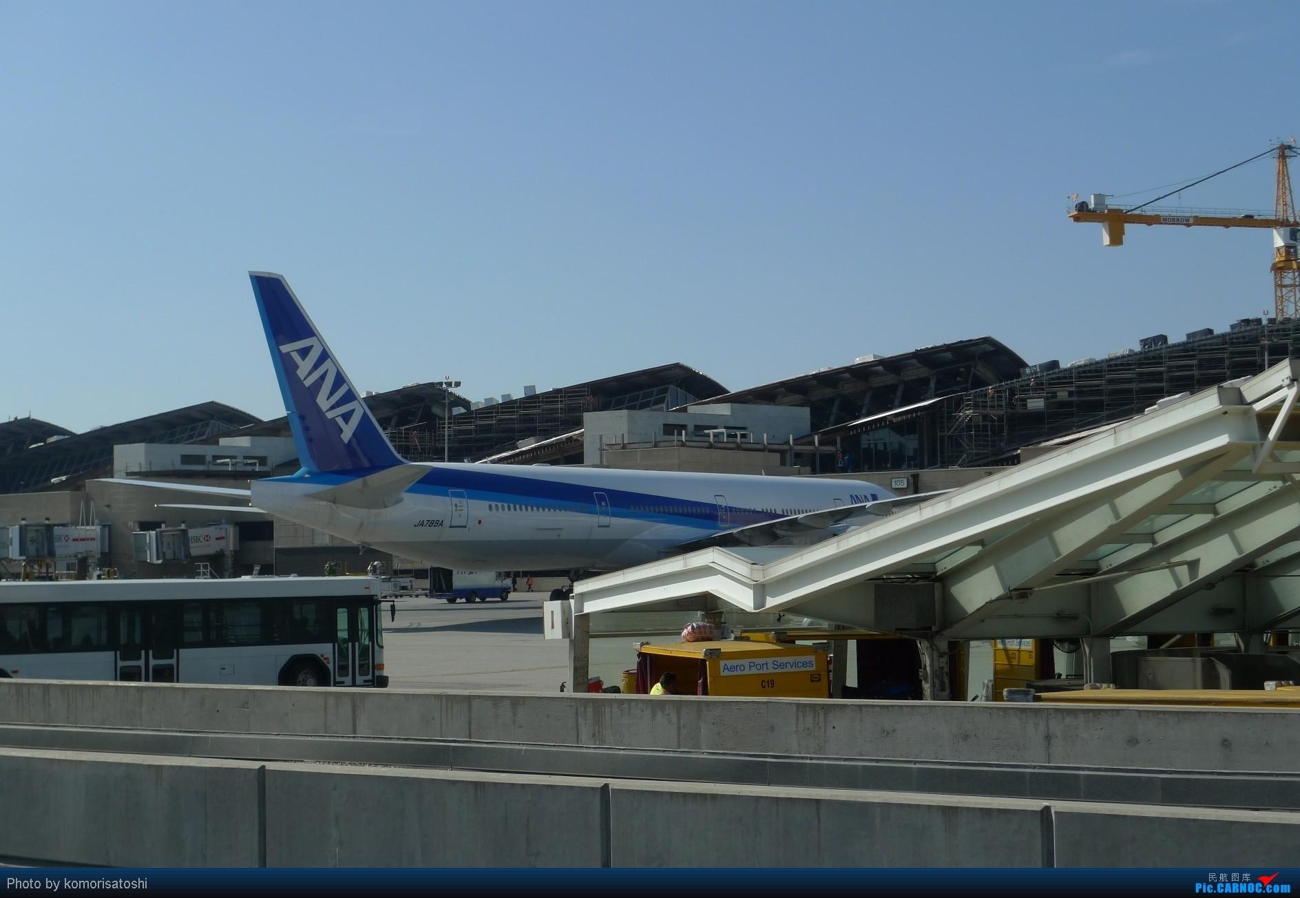Re:[原创]新手第一帖,LAX随拍+AA183,767小翼好漂亮、、、、、 BOEING 777-300 JA789A 美国洛杉矶机场
