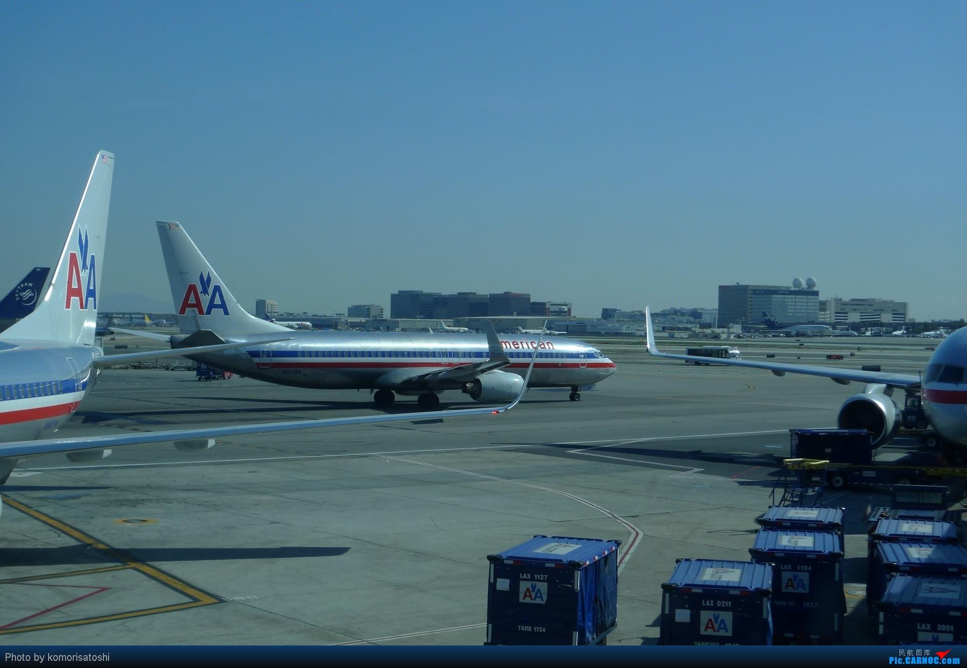 Re:[原创]新手第一帖,LAX随拍+AA183,767小翼好漂亮、、、、、 BOEING 737-800 N97IAN