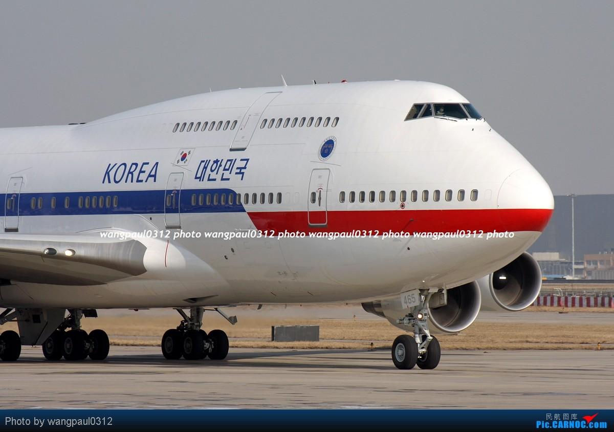 Re:[原创]波音747组图-印尼狮子航空-韩国空君-伊朗航空加长版- BOEING 747-4B5 HL7465 北京首都国际机场