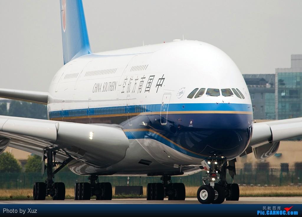 [原创]南航380大头 AIRBUS A380 B-6136 中国广州白云机场