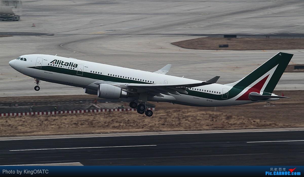 [原创]**【赶上了】之意大利航空 AIRBUS A330-200 EI-EJL 中国北京首都机场