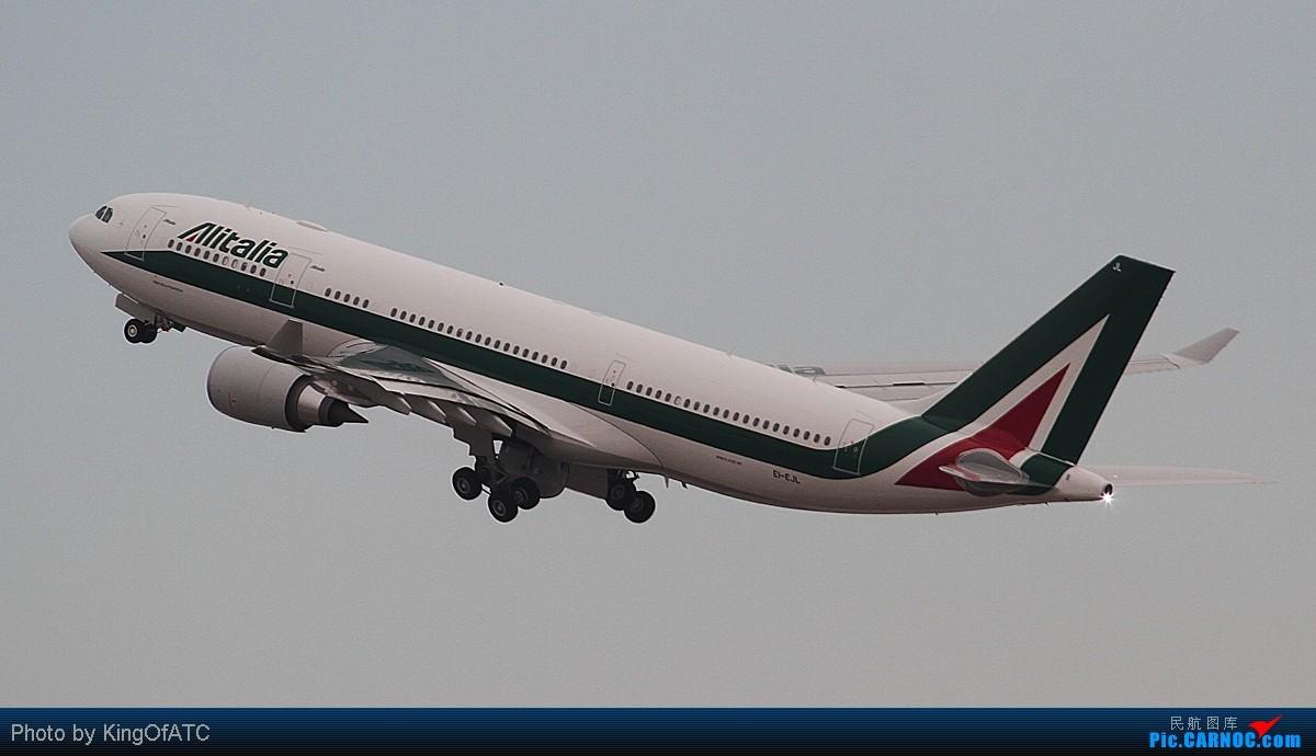 Re:[原创]**【赶上了】之意大利航空 AIRBUS A330-200 EI-EJL 中国北京首都机场