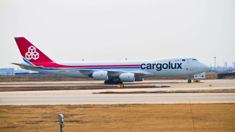 【无锡西站】近三周PVG货机~~ BOEING 747-800F LX-VCD 上海浦东机场