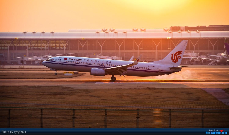 Re:【无锡西站】PVG的一些国内机~~~ BOEING 737-800 B-5497 中国上海浦东机场
