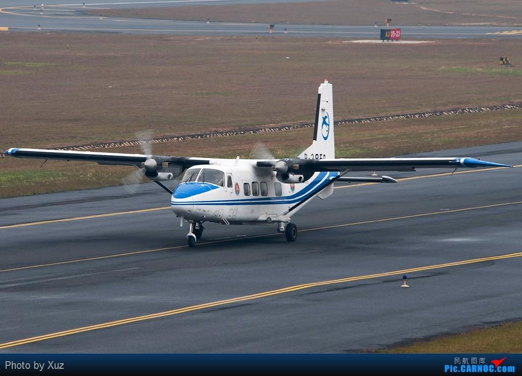[原创]PM2.5搞的广州没法拍机,就放点外地的 HARBIN AIRCRAFT INDUSTRY YUN-12 B-3850 中国厦门高崎机场