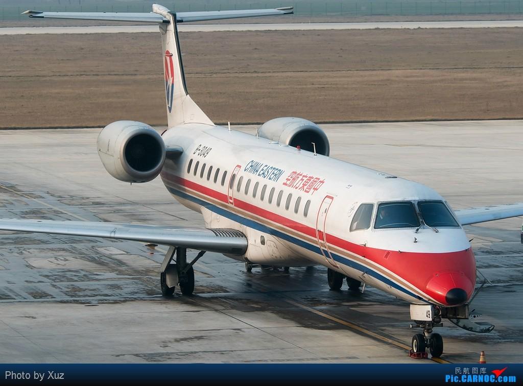Re:[原创]PM2.5搞的广州没法拍机,就放点外地的 EMBRAER ERJ-145 B-3049 中国淮安涟水机场