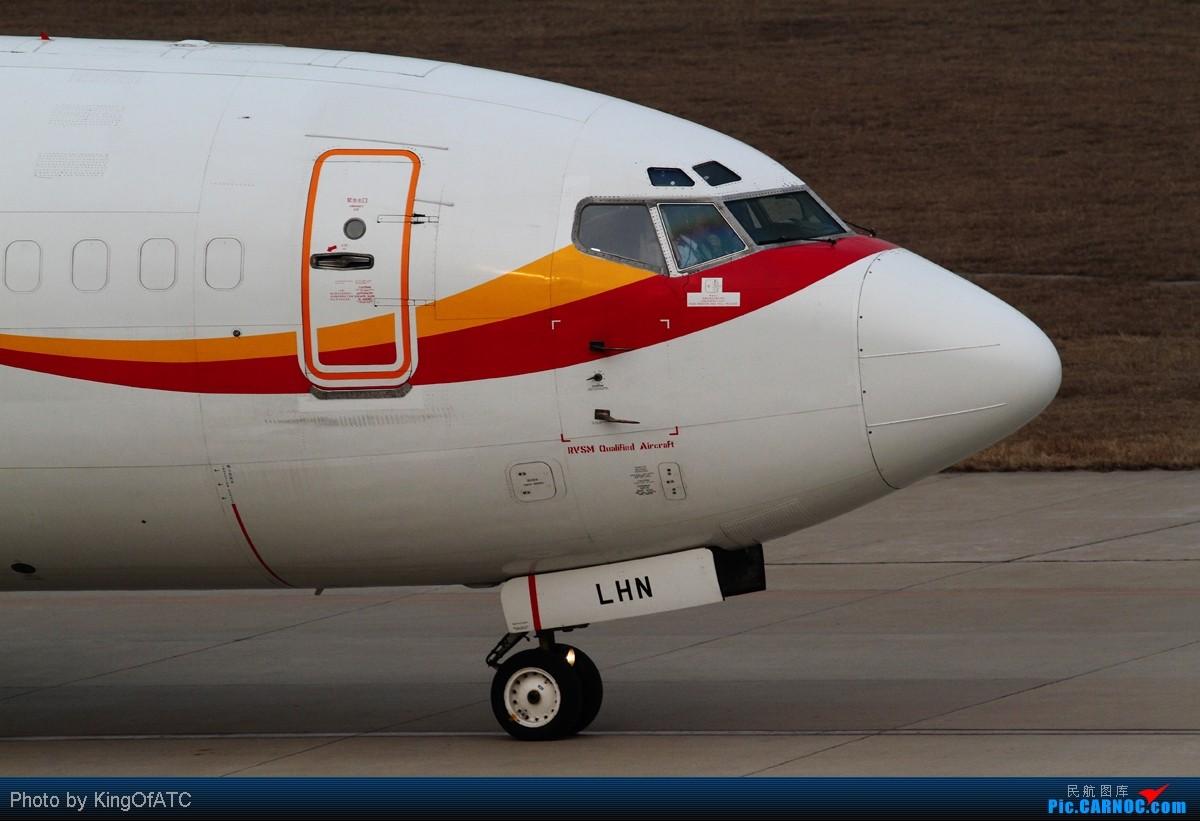 Re:[原创]**睡前一贴**在滨海的香港航空货机 BOEING 737-300F B-LHN 中国天津滨海机场