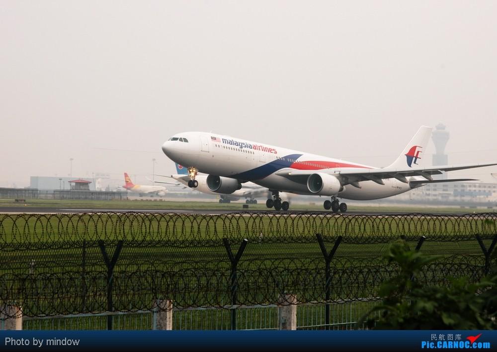 [原创]PEK 36L马航A330、海航A346、A330起飞 AIRBUS A330 9M-MTD 中国北京首都机场