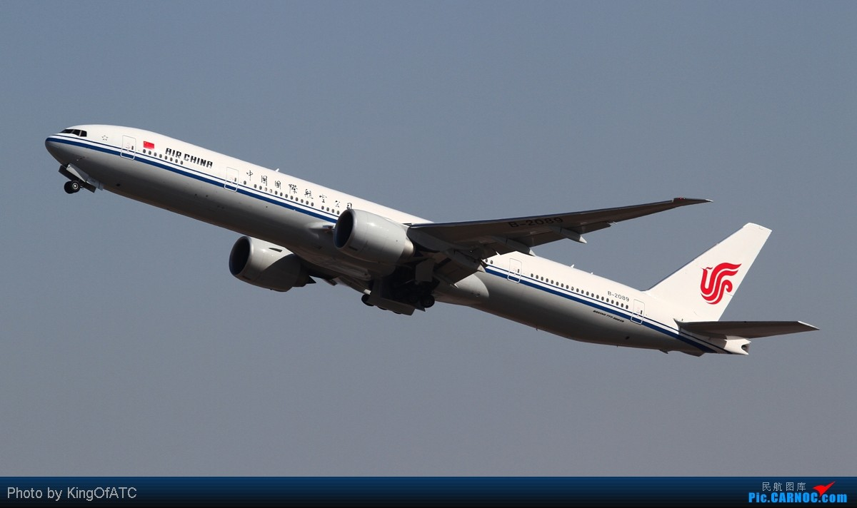 Re:[原创]**PEK好天!CAVOK!!**得瑟得瑟大飞机吧 BOEING 777-300ER B-2089 中国北京首都机场
