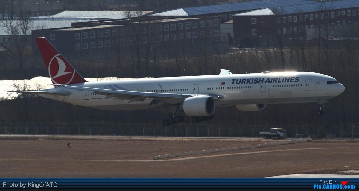 Re:[原创]**PEK好天!CAVOK!!**得瑟得瑟大飞机吧 BOEING 777-300ER TC-JJE 中国北京首都机场