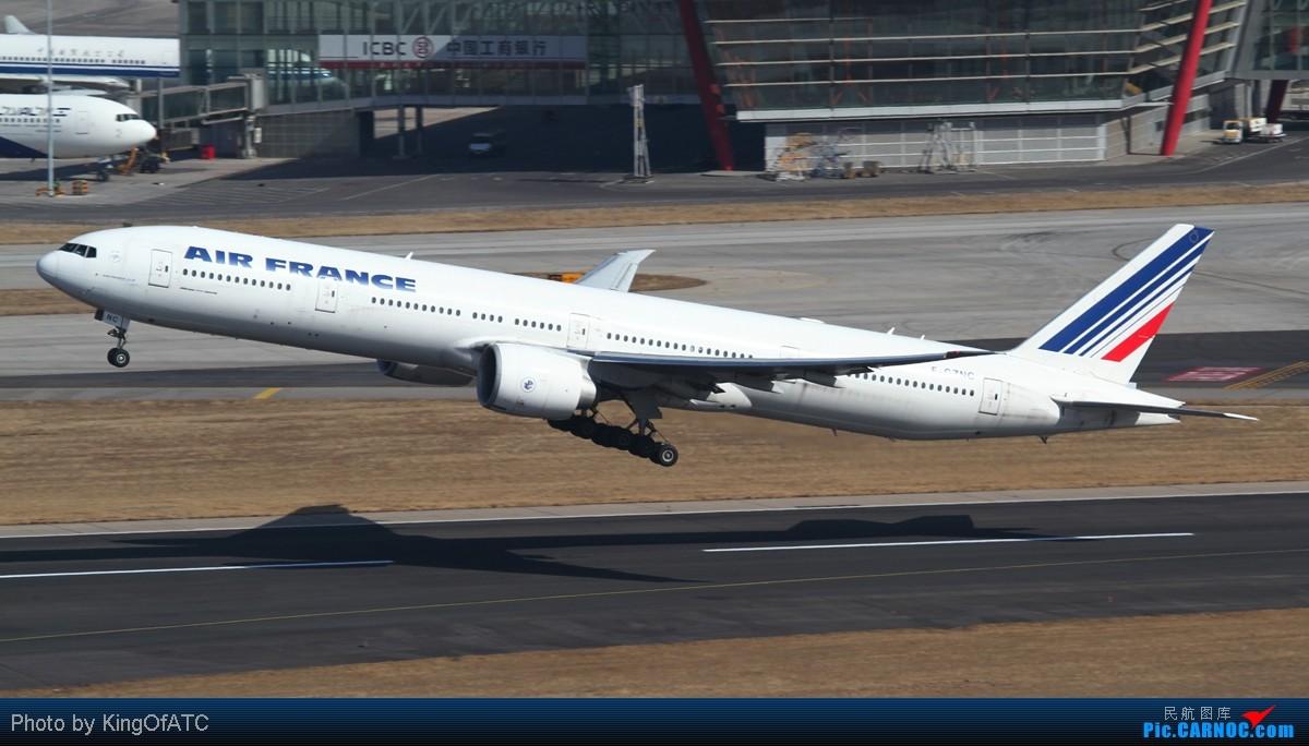 Re:[原创]**PEK好天!CAVOK!!**得瑟得瑟大飞机吧 BOEING 777-300ER F-GZNC 中国北京首都机场
