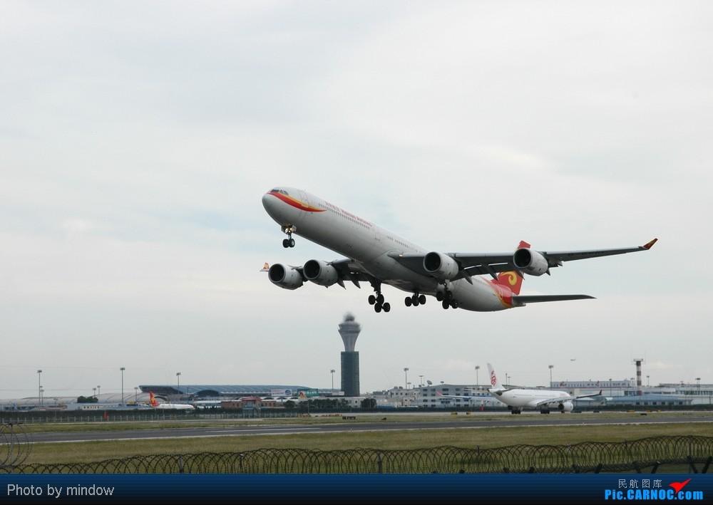 Re:[原创]首都机场36L马航起飞 AIRBUS A340-600 B-6510 中国北京首都机场