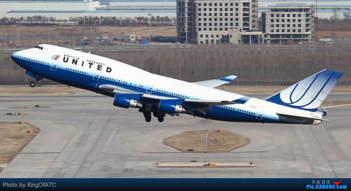Re:[原创]**PEK好天!CAVOK!!**得瑟得瑟大飞机吧 BOEING 747-400 N179UA 中国北京首都机场