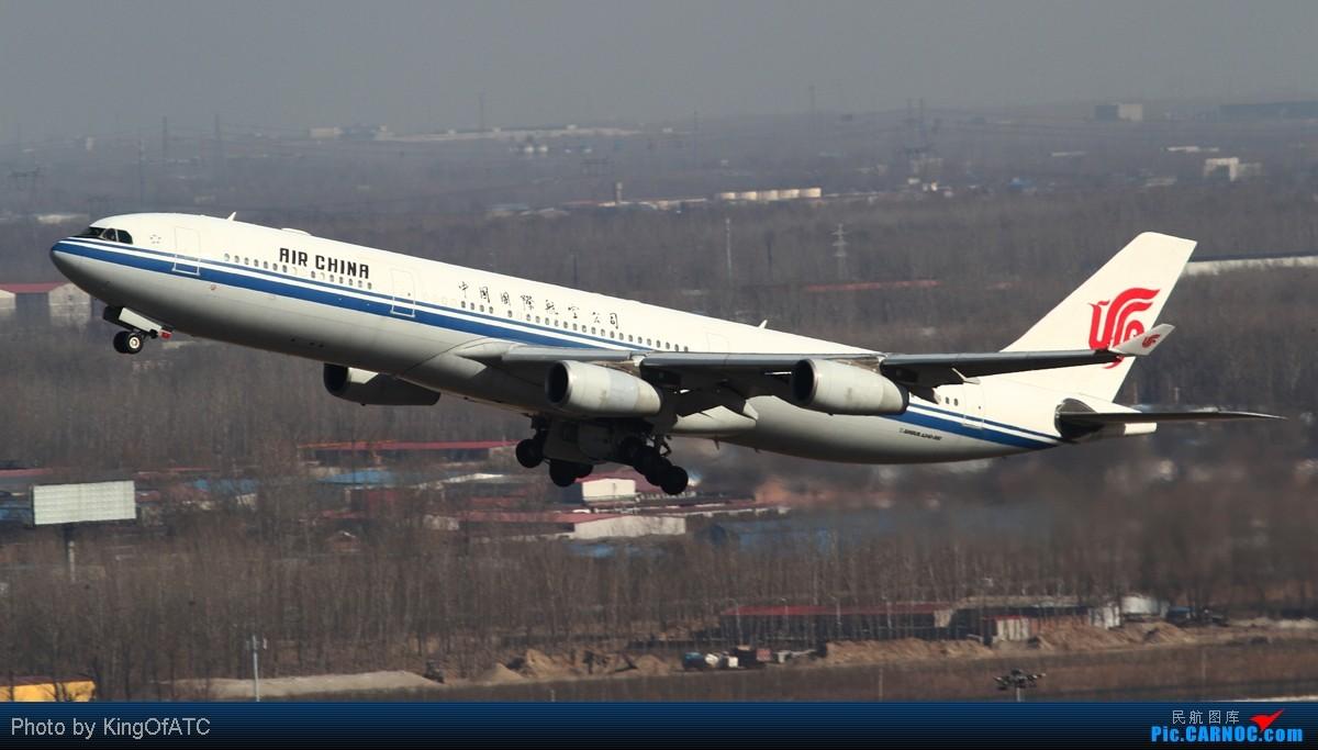 Re:[原创]**PEK好天!CAVOK!!**得瑟得瑟大飞机吧 AIRBUS A340-300 B-2389 中国北京首都机场