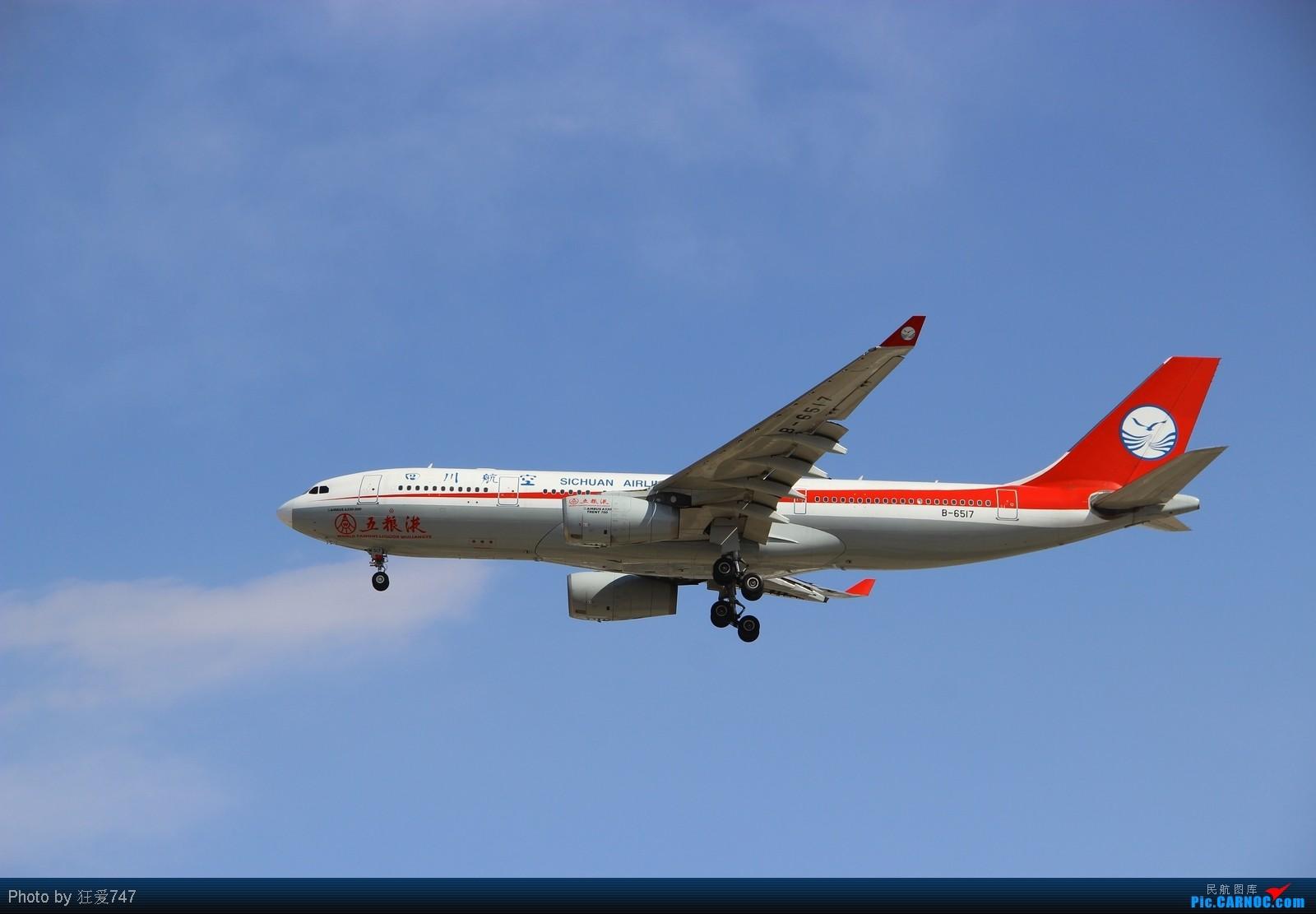 Re:[原创]今天转战西跑的一些收货。 AIRBUS A330-200 B-6517 中国北京首都机场