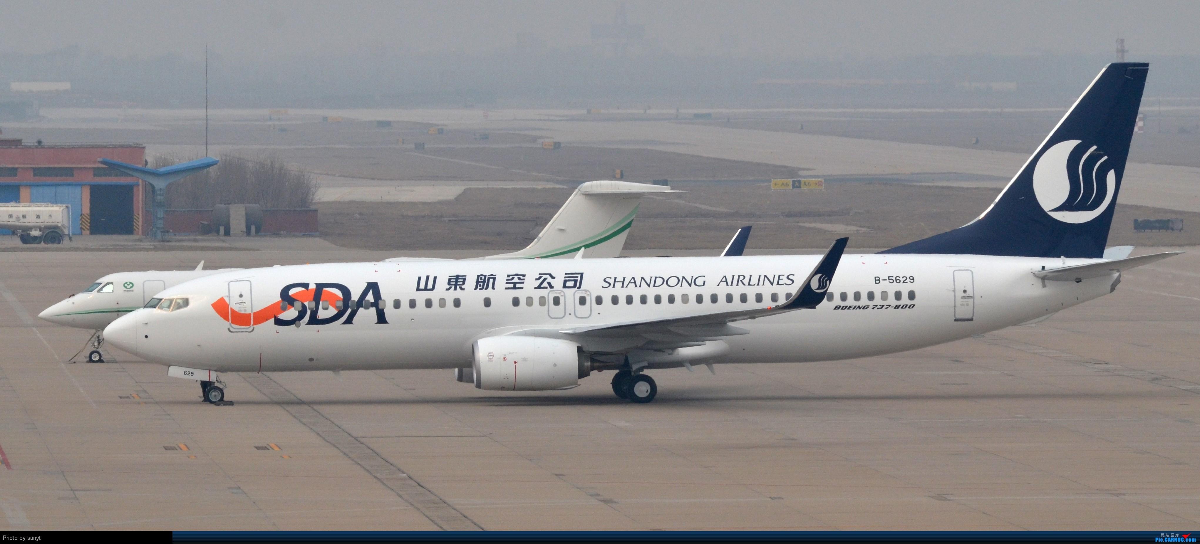 波音738 山东_[原创]山东航空新购置的波音737抵达TSN