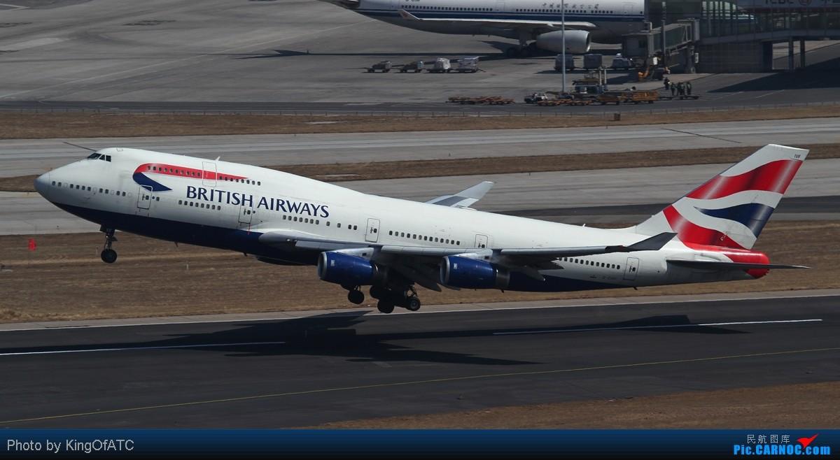 [原创]**好天气不是天天有**PEK的阴雨,发点儿晴天图 BOEING 747-400 G-CIVF 中国北京首都机场
