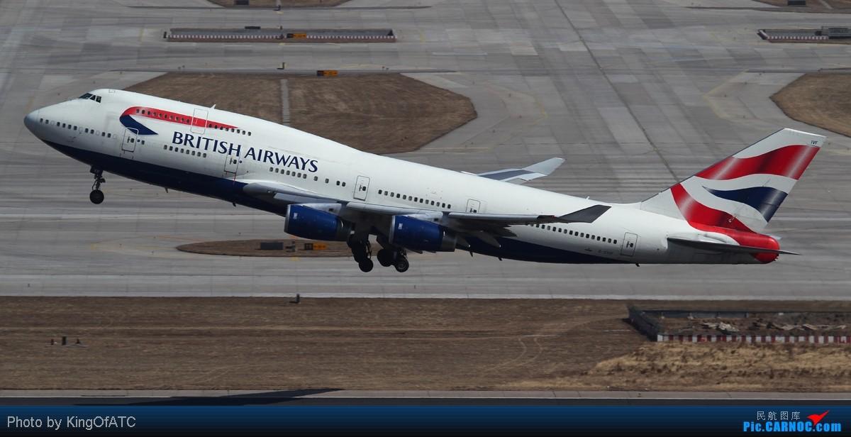 Re:[原创]**好天气不是天天有**PEK的阴雨,发点儿晴天图 BOEING 747-400 G-CIVF 中国北京首都机场