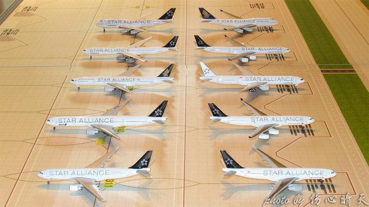 """Re:[原创]【晴天模型】在新航大白机和""""新航""""大黑机出现在晴天国际机场之际,星盟、KITTY大聚会啦!"""