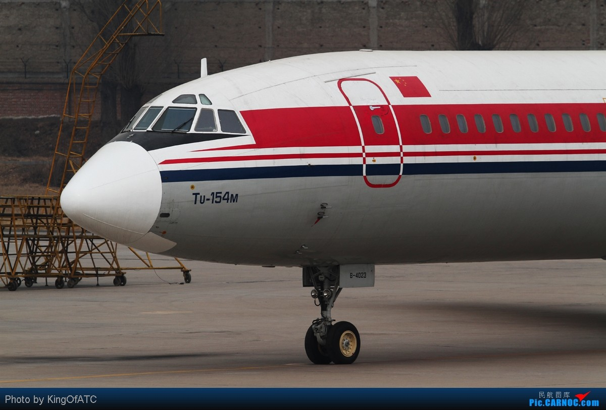 Re:[原创]**古怪的PEK天气**紫宸相见,光线都Hold不住了 TUPOLEV TU-154M  中国北京南苑机场