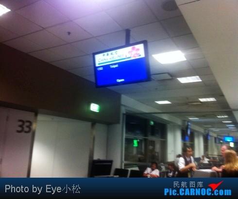 Re:[原创][初來乍到 遊記首發] SYD-BKK 中華航空商務艙    澳大利亚悉尼金斯福德·史密斯机场