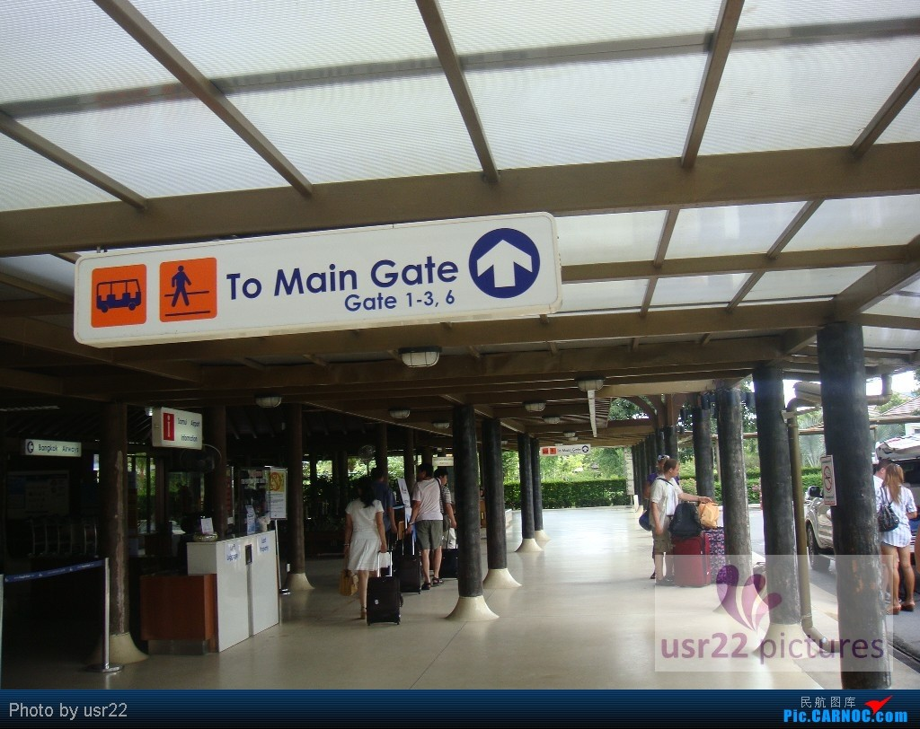 Re:[原创]【USR22游记-3】苏梅岛五日行(下):PG805 USM-HKG,苏梅岛风景,富贵大佛拍飞机,特色的苏梅机场    泰国苏美岛机场