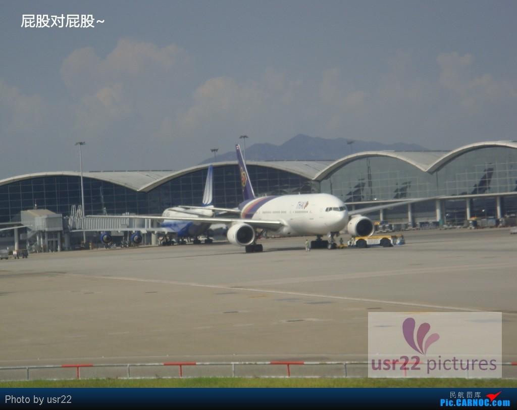 Re:[原创]【USR22游记-3】苏梅岛五日行(下):PG805 USM-HKG,苏梅岛风景,富贵大佛拍飞机,特色的苏梅机场    中国香港赤鱲角国际机场