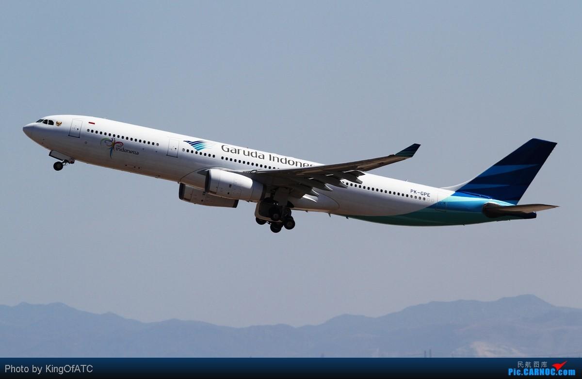 Re:[原创]**PEK CAVOK**印尼苏西洛的灰机+好光线下的大灰机 AIRBUS A330-300 PK-GPE 中国北京首都机场