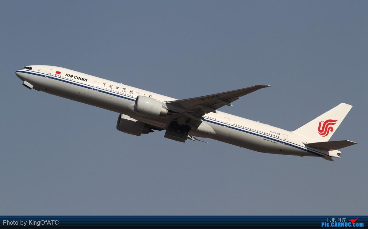Re:[原创]**PEK CAVOK**印尼苏西洛的灰机+好光线下的大灰机 BOEING 777-300ER B-2088 中国北京首都机场