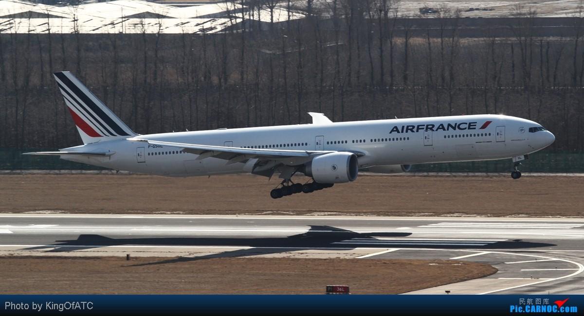 Re:[原创]**PEK CAVOK**印尼苏西洛的灰机+好光线下的大灰机 BOEING 777-300ER F-GSQL 中国北京首都机场