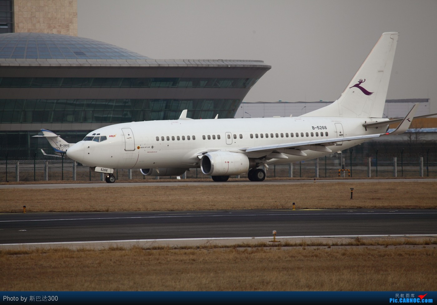[原创]西跑和天北路的小小小小收获 BOEING 737-700 B-5266 中国北京首都机场