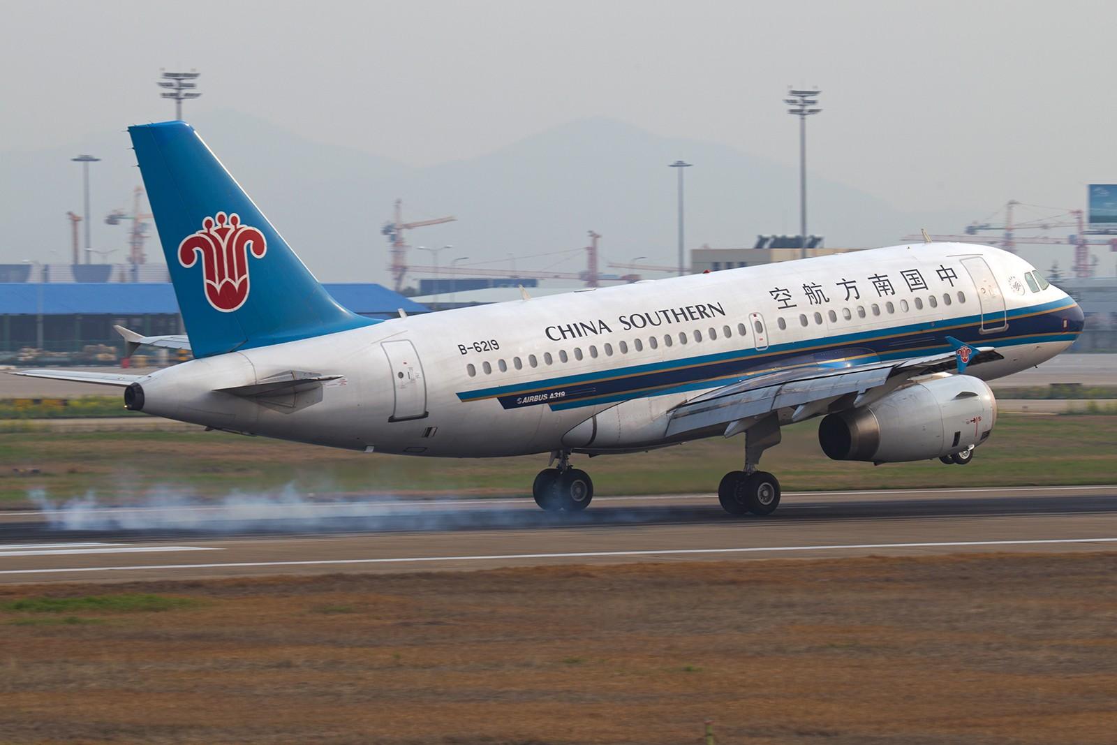 Re:[原创]【BLDDQ】******小长假的第一天,一个冬天手生了,从头开始练擦胭****** AIRBUS A319-100 B-6219 中国南京禄口机场
