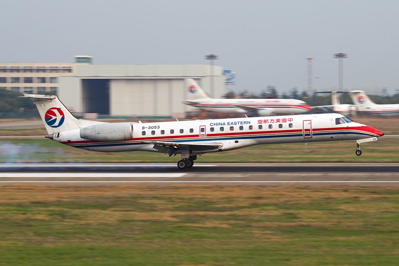 Re:[原创]【BLDDQ】******小长假的第一天,一个冬天手生了,从头开始练擦胭****** EMBRAER ERJ-145 B-3053 中国南京禄口机场