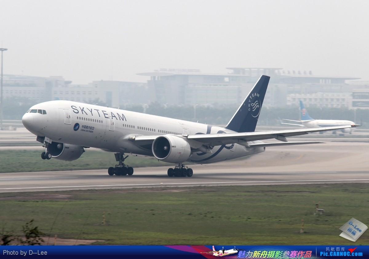 [原创]【广州,你好】-一组出现在广州的波音777 BOEING 777-200 B-2056 中国广州白云机场
