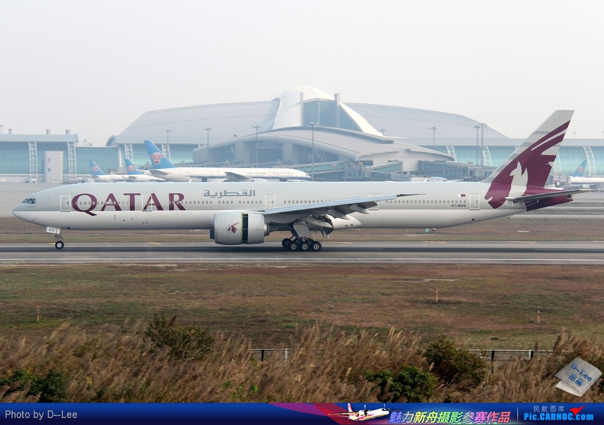 Re:[原创]【广州,你好】-一组出现在广州的波音777 BOEING 777-300ER A7-BAG 中国广州白云机场