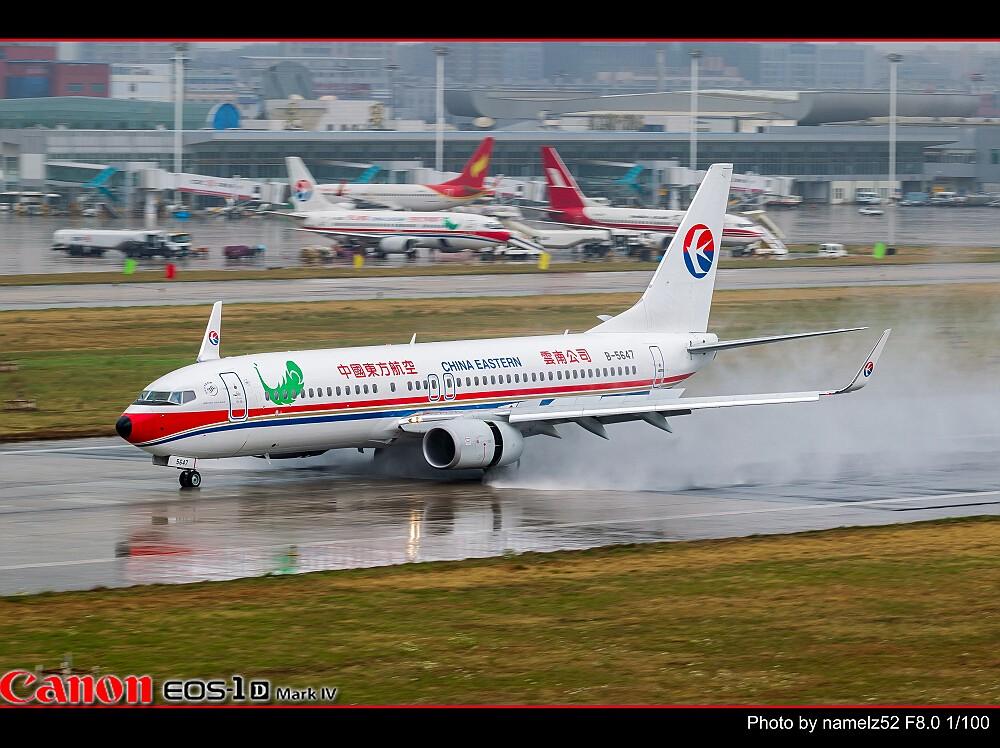 Re:[原创]【KMG】热烈庆祝云南下雨了,各省人们纷纷发来贺电 BOEING 737-800 B-5647 中国昆明巫家坝机场