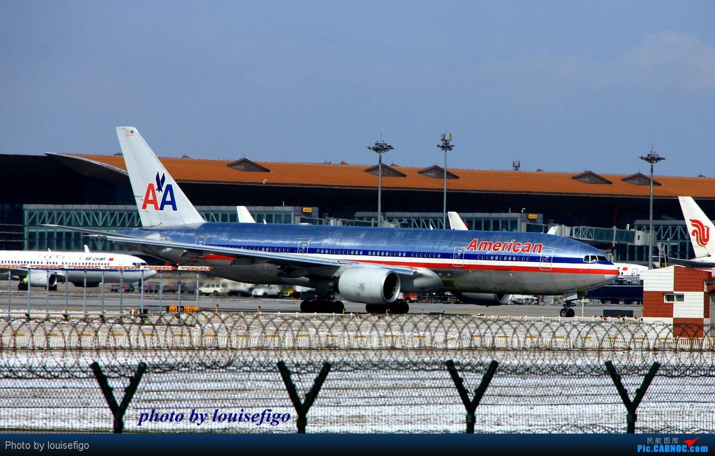 Re:[原创]整理了一下最近的图片,发现了张还算稀罕的~~~附赠一张大钢管儿! BOEING 777-200 N773AN 北京首都国际机场