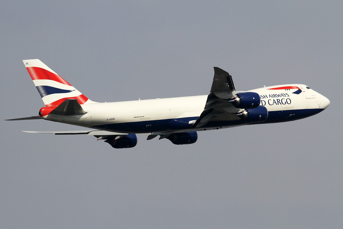 Re:[原创]【PVG】**********四月就拍747,永恒的空中女王********** BOEING 747-8F G-GSSE 中国上海浦东机场