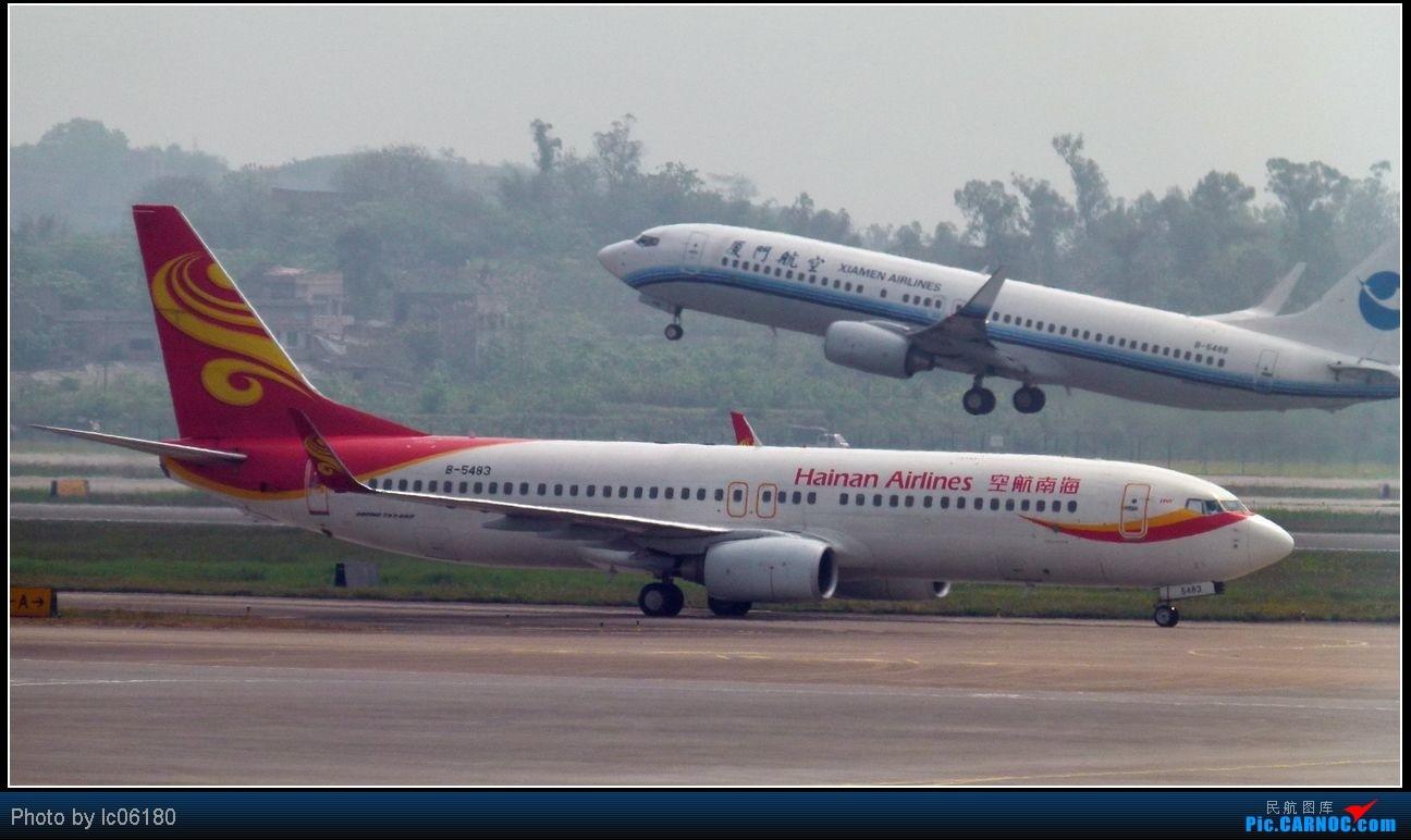 Re:[原创]『lc06180』CKG·周末拍机 BOEING 737-800 B-5483 中国重庆江北机场