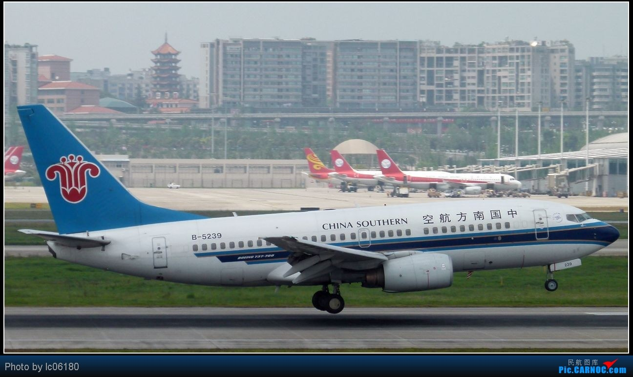 Re:[原创]『lc06180』CKG·周末拍机 BOEING 737-700 B-5239 中国重庆江北机场