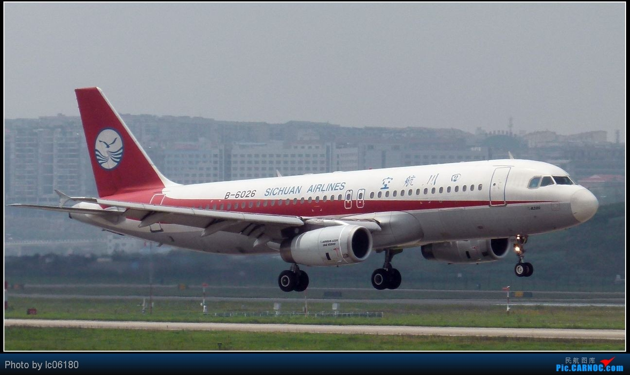 Re:[原创]『lc06180』CKG·周末拍机 AIRBUS A320-200 B-6026 中国重庆江北机场