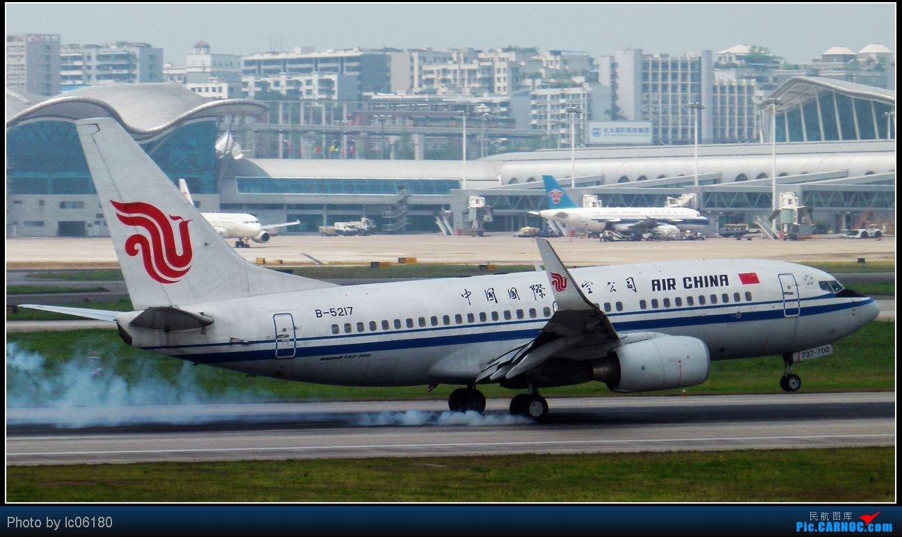 Re:[原创]『lc06180』CKG·周末拍机 BOEING 737-700 B-5217 中国重庆江北机场